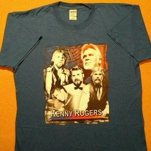 2003 Kenny Rogers Country Tour T-Shirt - Size: XL